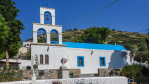 Die Kirche Agios Georgios, Agathonisi, Griechenland