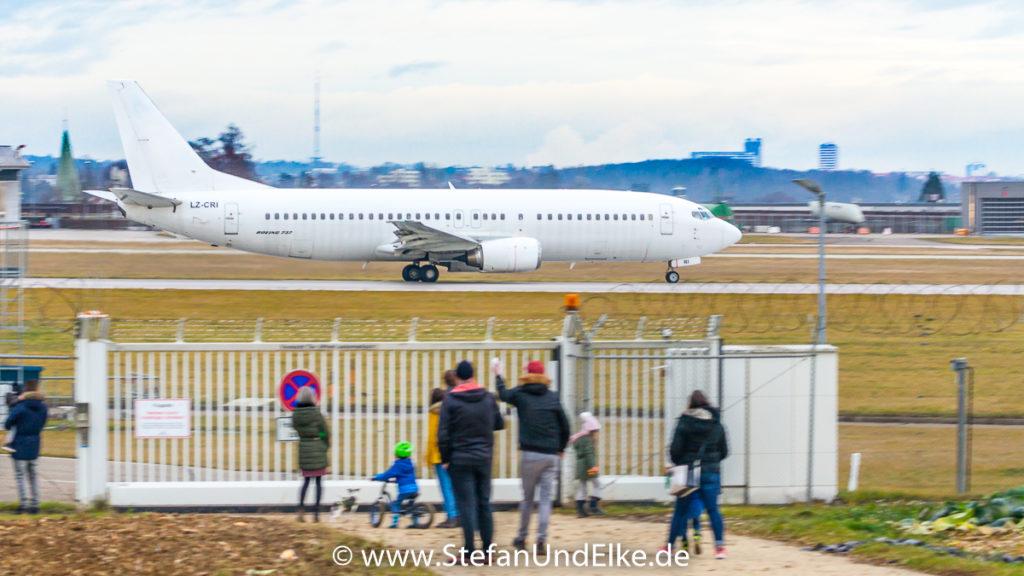 Boeing 737-446 LZ-CRI, EDDS (STR) VFH Stuttgart, GPX (IV) GP Aviation Limited