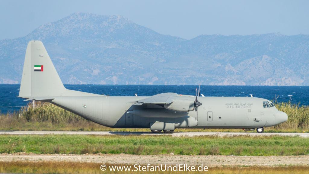 Lockheed C-130H-30 Hercules 1215, LGRP (RHO) Rhodos, Flugzeuge 2022