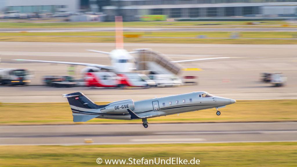Learjet 60XR OE-GSE, LSZH (ZRH) Zürich, Avcon Jet AG, Flugzeuge 2022