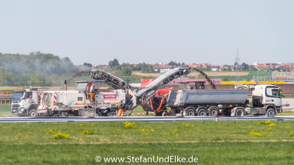 EDDS (STR) VFH Stuttgart, Teilsperrung der Start- und Landebahn, Flugzeuge 2022