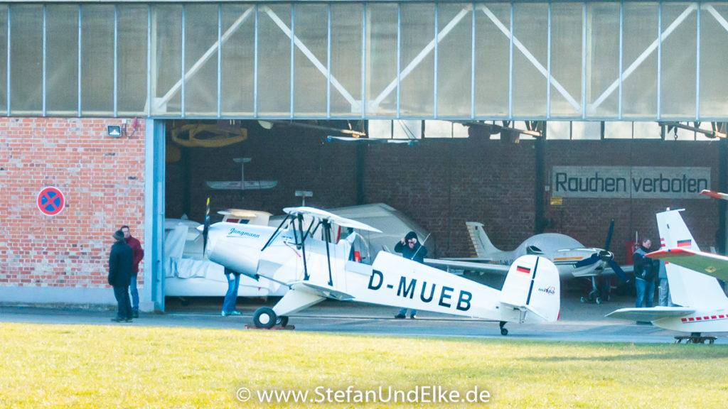 Bücker Bü-131 Jungmann D-MUEB, SFG Übersberg (Pfullingen)
