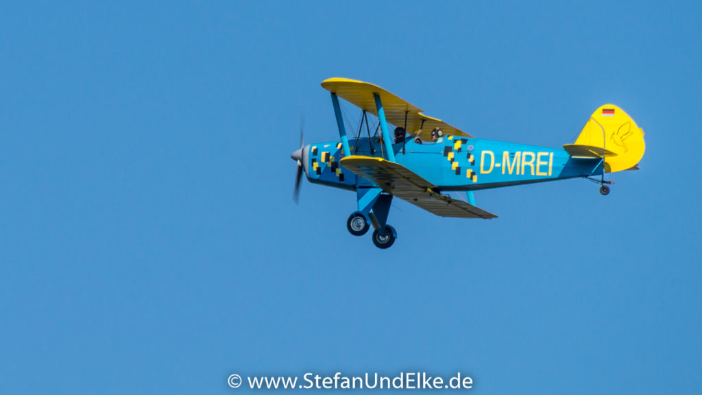 Platzer Kiebitz B9 D-MREI, Unterwegs, Mitglied des AeroClub Göppingen-Salach e.V.