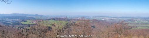 Blick vom Dreifürstenstein