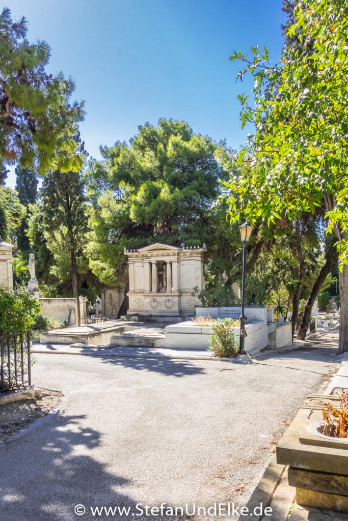 Erster Athener Friedhof, Athen, Griechenland