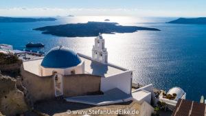 Inselhauptstadt Fira, Insel Santorini, Griechenland