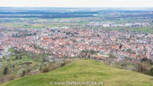 Auf der Limburg bei Weilheim, Baden-Württenberg, Deutschland