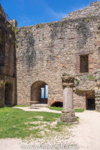 Schloss Hohenbaden, Baden-Württemberg, Deutschland