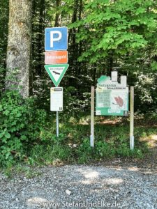 Wanderweg zur Burgruine Hohennagold