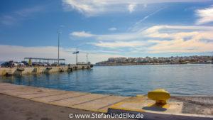 Im Hafen von Rafina, Griechenland