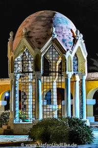 Brunnen der Verkündungskirche, Rhodos-Stadt, Insel Rhodos, Griechenland