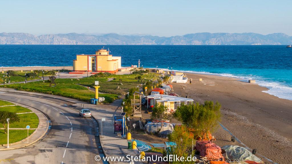 Das Aquarium an der Nordspitze der Insel Rhodos, Griechenland