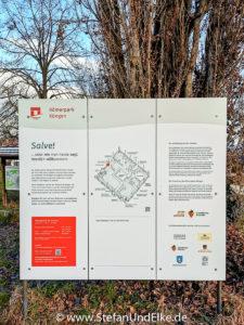 Im Römerpark in Köngen, Baden-Württemberg, Deutschland