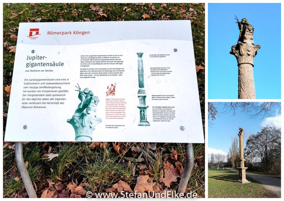 Der Römerpark in Köngen