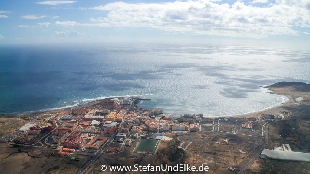 Abschied von der Insel Teneriffa, Kanarische Inseln, Spanien