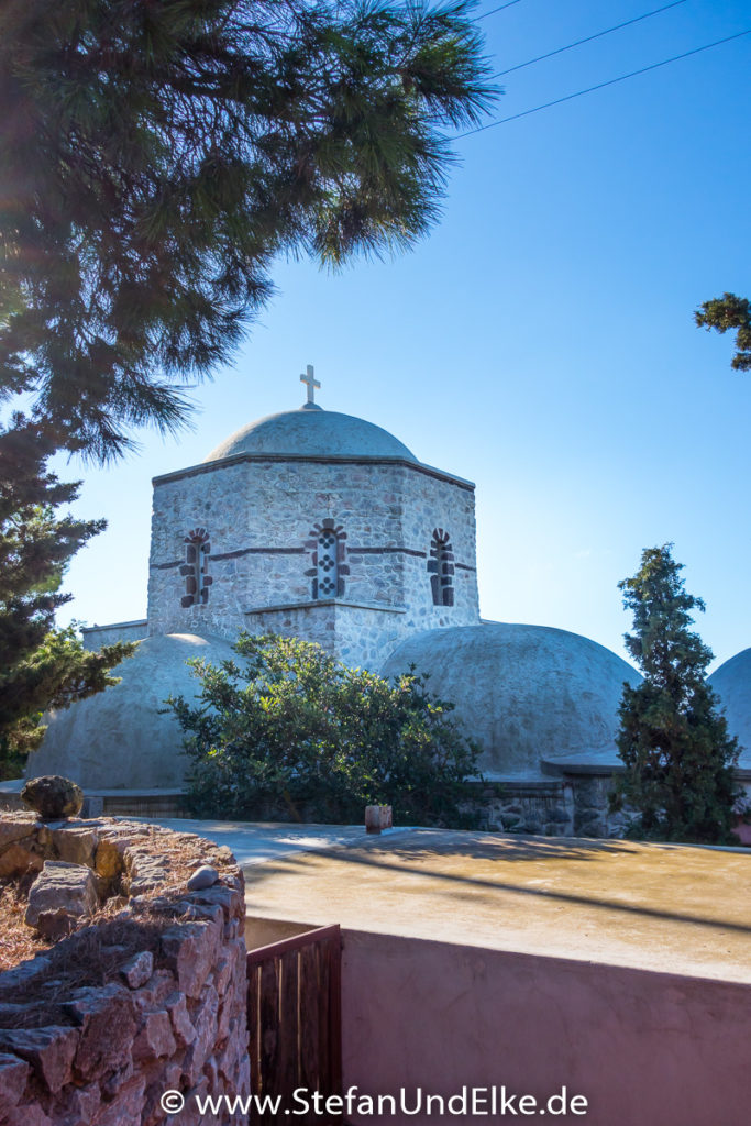 Prophet Elias Monastery, Insel Santorini, Griechenland