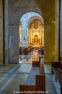 Die Kirche Sant Andreu, Santanyi, Balearen