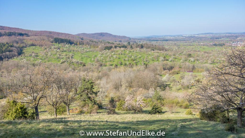 Wanderung zum Dreifürstenstein, Baden-Württemberg, Deutschland