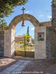 Das Kloster Agios Georgios bei Laerma, Insel Rhodos
