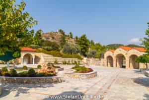 Im Kloster der Panagia Ipseni auf der Insel Rhodos-  - Klöster, Kirchen und Kapellen