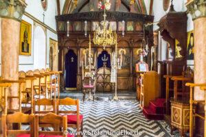 Im Kloster der Panagia Ipseni auf der Insel Rhodos -  - Klöster, Kirchen und Kapellen