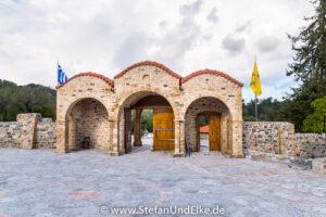 Griechenland, Urlaub, Kloster Panagia Ipseni, Lardos, Insel Rhodos,  - Klöster, Kirchen und Kapellen