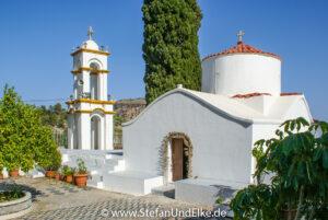 Das Kloster Kamiri bei Archangelos, Insel Rhodos