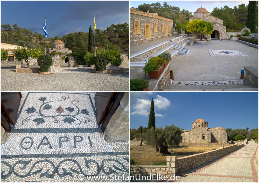 Das Kloster Moni Thari bei Laerma auf der Insel Rhodos