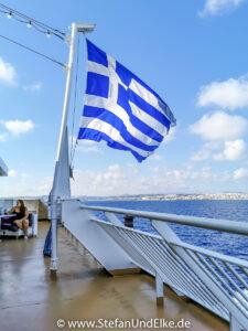 Mit der Fähre Blue Star Patmos zum östlichsten Zipfel Griechenlands
