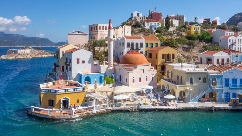 Die griechische Insel Kastellorizo