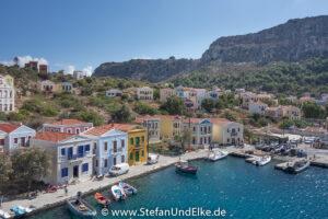 Griechenland, Urlaub, Im Hafen von Kastellorizo
