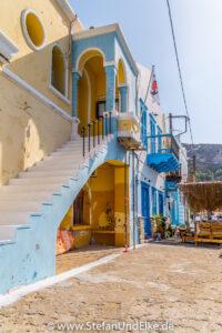 Griechenland, Urlaub, Die Hafenbehörde von Kastellorizo