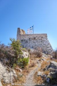 """Griechenland, Urlaub, Die alte Festung """"Kastellorizo Kastello Rosso"""""""