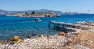 Griechenland, Urlaub, Die Kleininsel Agios Georgios bei Kastellorizo