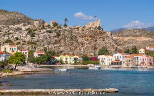 Griechenland, Urlaub, Mandraki - der kleine Ortsteil auf Kastellorizo