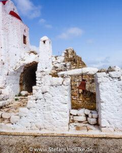 Die Kapellen Panagia tou Kastrou und Agios Stefanos