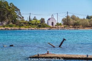 Griechenland, Urlaub, Agios Savvas in Mandraki, Insel Kastellorizo