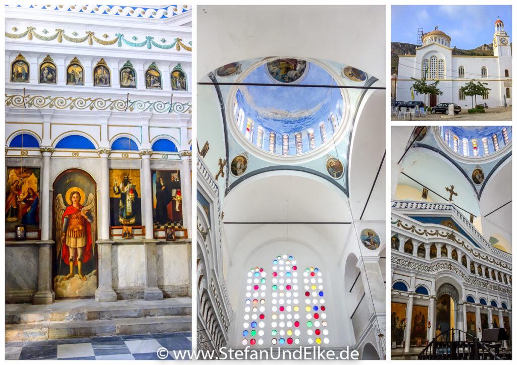 Stadtkirche Saint George in Kastellorizo, Griechenland