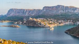 Wanderung zur Nordspitze der Insel Kastellorizo, Griechenland