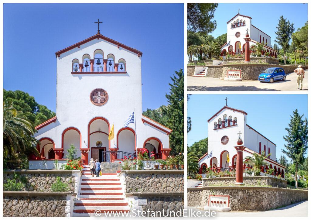 Kirche des Agios Charalambos in Elousa, Insel Rhodos, Griechenland