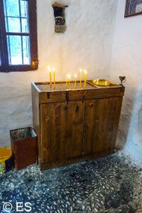 Kloster Amos bei Faliraki, Insel Rhodos  - Klöster, Kirchen und Kapellen
