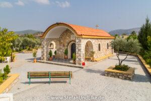 Kirche des Klosters des Apostel Philip bei Lardos, Insel Rhodos, Griechenland