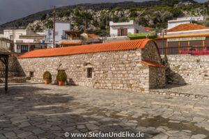 Die alte Kirche Agios Panteleimon in Siana, Insel Rhodos, Griechenland