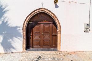 Die Kirche Agia Paraskevi in Kattavia, Insel Rhodos, Griechenland