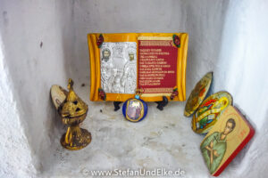 Die Kapelle des Propheten Elias bei Faliaki, Insel Rhodos, Griechenland