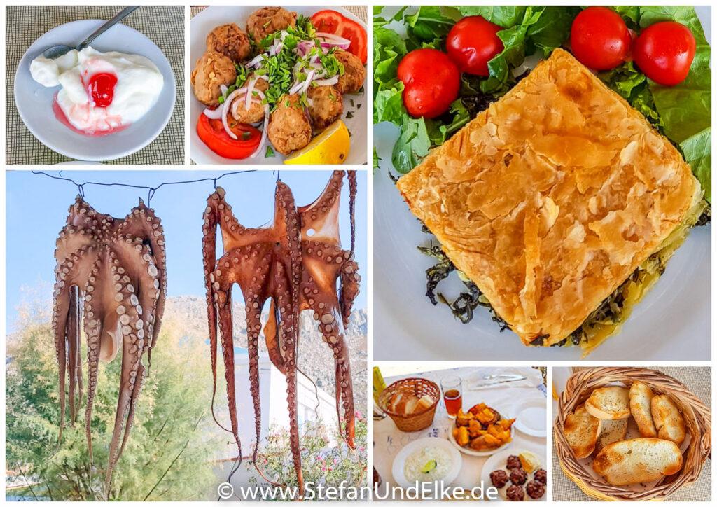 Essen auf Symi, Griechenland