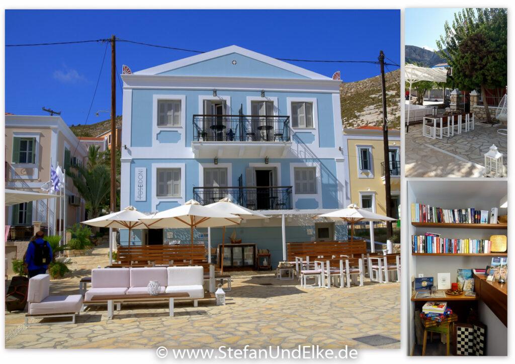 Hotel Poseidon in Megisti, Griechenland