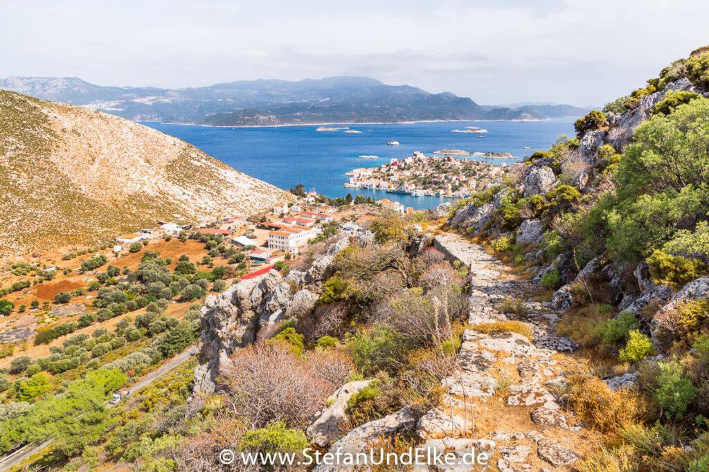 Auf dem Weg nach Megisti, Insel Kastellorizo, Griechenland