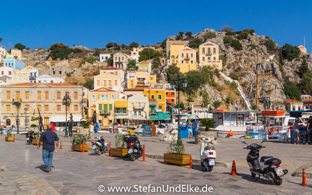 Insel Symi, Ortsteil Gialos, rund um den Hafen