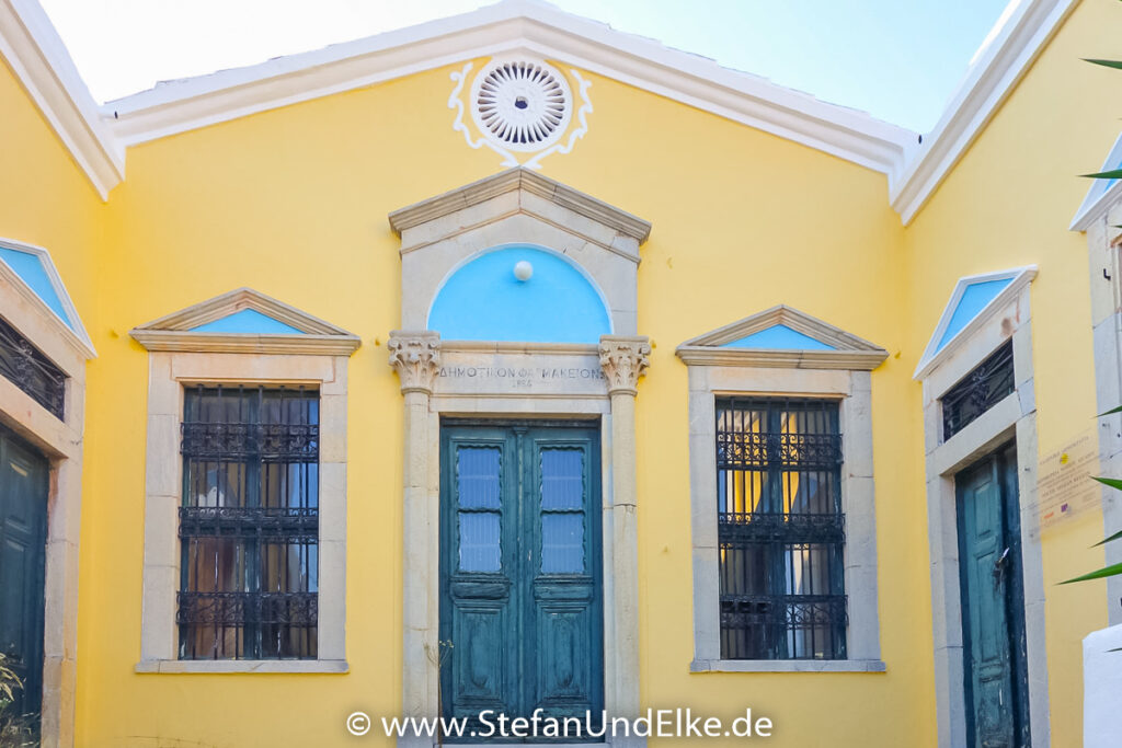 Spetsaria, die alte Gemeindeapotheke auf der Insel Symi